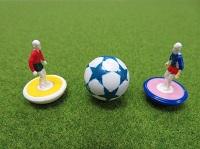ワークショップ「おはじきサッカーのコマをつくろう!」