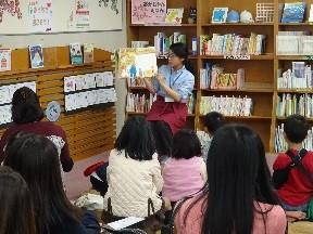 赤ちゃんおはなし会【図書館】